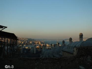 Estambul desde la Mezquita de Solimán