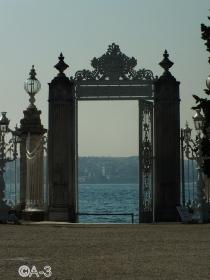 Entrada de los sultanes a Dolmabahce