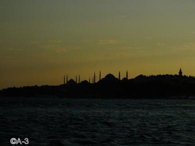 Atardecer en Estambull