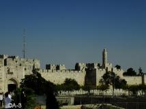 Jerusalén, Fortaleza