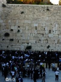 Jerusalén, Muro Occidental