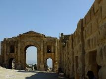Arco de Adriano, Jerash